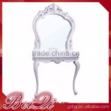Beiqi 2016Antique Royalty Style Used Beauty Salon Equipment Salon Mirror Station for Sale in Guangzhou