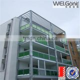 balcony wall decoration glass price