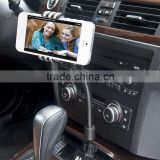 High Quality Car Charger Holder Dual Port Usb Cell Phone Holder XHB-CR