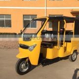 Diesel tricycle shaft drive water cooled commercial tricycles for passenger