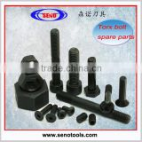 screw M4.5*10, torx screw bolt, torx bolt, torx head bolt for turning toolholder and inserts