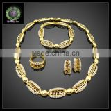 2016 New Arrival African Gold Plated Jewelry set which for Wedding jewelry set Match Clothes BHK650