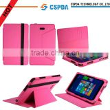 Fashion design colorful stand leather case with card slots for Dell Venus 8 Pro
