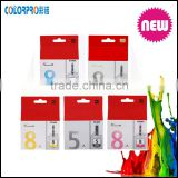 Original ink cartridge for Canon MP500, MP600, MP610, MP800/800R, MP810 printer cli 8 original ink cartridge