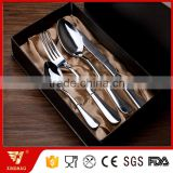 High Grade Box Packing 4 Pcs Stainless Steel Cutlery Set