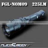 aluminum rechargeable q5 3-watt led 1101 police flashlight