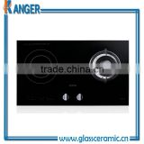 Popular Kanger Black Ceramic Glass rice gas cooker & gas safety device
