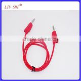 banana connector cable, banana battery cable, car test lead cable