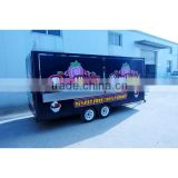 vending mobile food cart trailer with frozen yogurt machine XR-FV500 A                                                                         Quality Choice