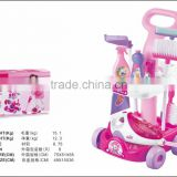 Toy B/O vacuum cleaner cart cleaner set toy for kids,Kids toys cart vacuum cleaner clean suits