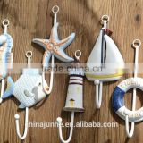 Wooden coats hook,wholesale wooden clothes hooks metal hooks                                                                         Quality Choice