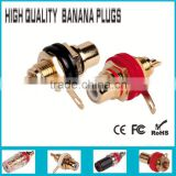 Speaker Audio Amplifier Banana Plug for abreast binding post