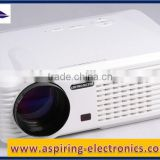 with Double HDMI and Double USB Interface 2500 lumens android projector