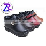 YiWu stock shoes women winter leather shoes cheap women shoes                                                                         Quality Choice