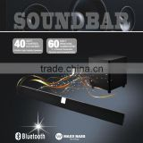 "2.1CH SOUNDBAR SPEAKER WITH 6.5"" INCHES WIRED SUBWOOFER , BEST FOR LCD/LED/SMART TV , DVD PLAYERS, AMPLIFIERS, SMART PHONES ETC"