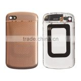 Original Genuine Battery Door And Top Cover For BlackBerry Q10 - Gold