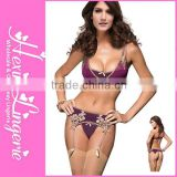 2015 Wholesale Cheap Plus Size Bra Sets Underwear Lingerie Bra Slip