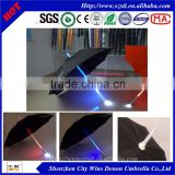wholesale price good quality colourful led flashing led light umbrella as Christmas gift
