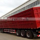 Three axles Side Dump Semi-trailer,tipper semi trailer,tipping trailer from China manufacturer