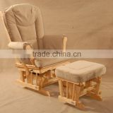 TF28T Baby Feeding Rocking Chair with Ottoman