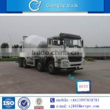 Mobile brand new ZZ 8*4 concrete mixer truck PUMP made in China for sale in South Africa
