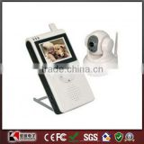 "2.5"" LCD Wireless Pan and Tilt Control Baby Monitor 2.4GHz wireless Baby monitor"