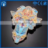 custom soft hard enamel design logo metal lapel pin badge                                                                                                         Supplier's Choice