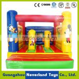 NEVERLAND TOYS Best Quality Hot Selling Cheap Inflatable Mickey Mouse And Donald Duck Bouncer Combo Trampoline For Sale