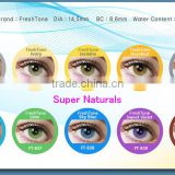 INQUIRY about NEW! FreshTone Super Naturals Korea colored contacts wholesale very light no ring color contact lenses                                                                        Quality Choice