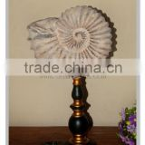 polyresin home decorate china supplier russian pyrite ammonite fossil design for sale