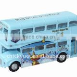 1:72 Die cast double-decked bus model