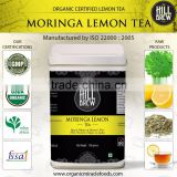 Organic Certified Moringa Lemon Dip Tea Bag Exporters