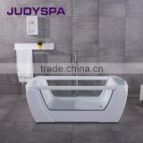 Portable Whirlpool Acrylic Massage Bathtub Two glass YG7028