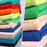 Comb cotton jersey knitted burn out textile material fabric from china