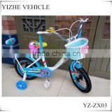 Blue Kid Bike With Back Seat/Girls baby cool bicycle wholesale price