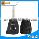 high quality 3 button without battery clamp holder remote key blank case shell cover for Chrysler