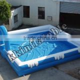 High Quality Kids and Adults water toys inflatable bubble pool for party center