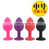 CT Silicone 44g Seamless Butt Plug Plugs Silicon Soft Silicone Anal Toys
