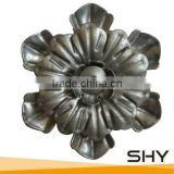 Forged Steel Flowers,Stamping Steel Flowers & Leaves as Stamping Ornaments
