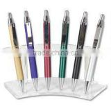 acrylic display stand/acrylic pen display/office stationery