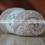 Cnlucky Factory 85% Acrylic 15% Poly Blended Yarn for Knitting gloves with wool