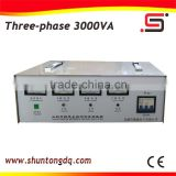 new technology SVC three phase 3kva electric current power automatic voltage regulator made in china