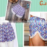 colorful girls hot sexy shorts summer beach short pants,comfortable sports fashion pants