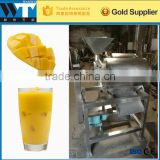 Mango Puree Extractor / Fruit Pulp Juice Making Machine with high efficiency