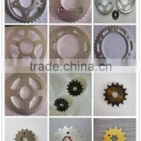 brazil motorcycle chain sprocket type spare part high frequency YBR125