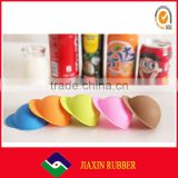 New arrival interesting cap-shaped silicone lid for pop can, food grade silicone lid