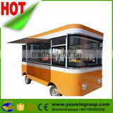 big space fast food vending machine, fast food mobile kitchen trailer, fast electric car