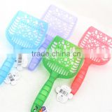 Assorted Colours pet handle scoop Litter Spoon cat handle scoop Easily Remove Large Clumps
