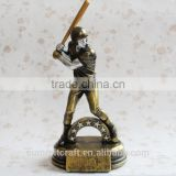 Resin trophies award for sale baseball trophy sports trophy