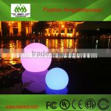 Waterproof rechargeable colorful led floating ball